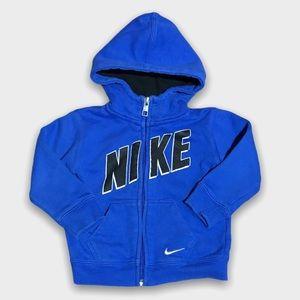 Blue Nike Zip Up Jacket